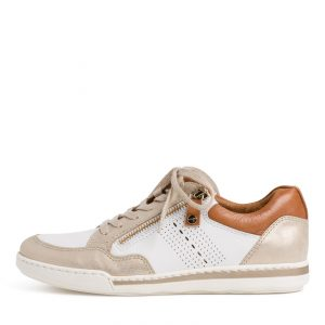 Neutral Leather Casual Shoe