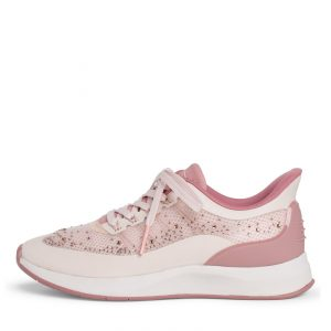 Pink Trainer with Diamante Detail by Tamaris Fashletics
