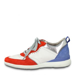 Colourful Trainer in Wide fit