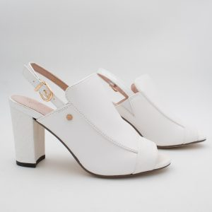 White high cut sandal from Kate Appleby
