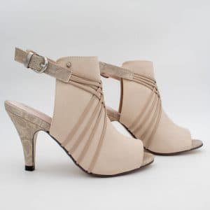 Beige High-Cut Sandal from Kate Appleby